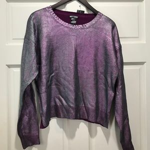 Hot Topic color change sweater